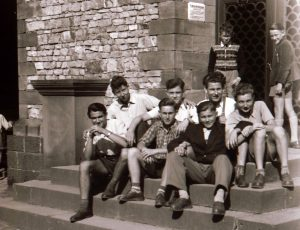 1954: 7 meiner Klassenkameraden der Untertertia