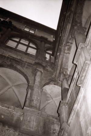 4. Prag: Innenhof des Hauses Melantrichgasse 475