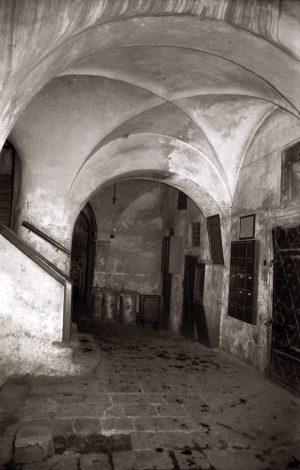 3. Prag: Das Innere des Hauses Melantrichgasse 475