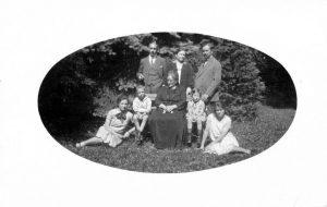 Familienfoto mit den Kleinen