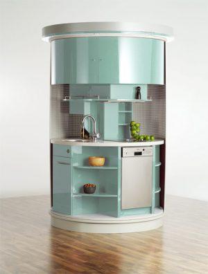 Original Circle Kitchen Compact Design