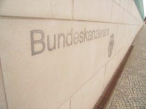 Bundeskanzleramt Schriftzug