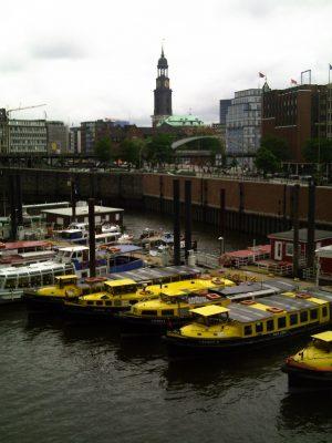 Hamburg, Michel, Hafen
