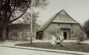 Räucherkate in Schafstedt um 1930