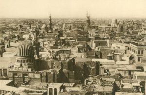 Kairo, die Stadt aus der Vogelperspektive