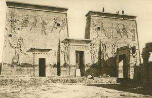 Isistempel auf der Nilinsel Phylae