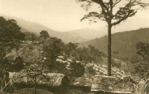 Eingeborenenstadt in den Usambarabergen, Amani