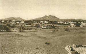 Aufnahme der Stadt, Okahandja