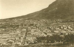 Die Stadt aus der Vogelperspektive, Kapstadt