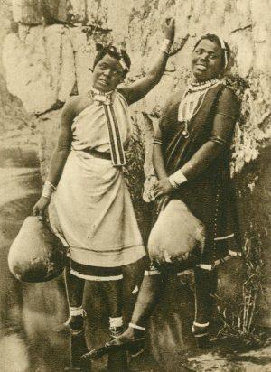 zwei Kaffernschönheiten, Südafrika