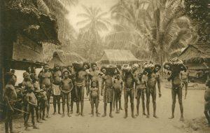 Eingeborene von Neu-Guinea, Papua-Neuguinea