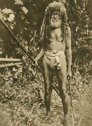 alter Kannibale, Fidschi- Inseln