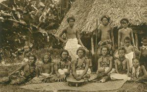 Eingeborene Frauen, Samoa