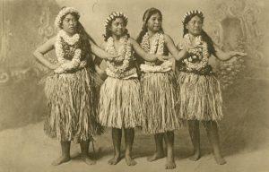 Hula-Hula Tänzerinnen, Hawaii