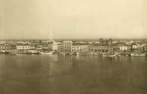 Die Stadt vom Meer aus gesehen, Guayaquil