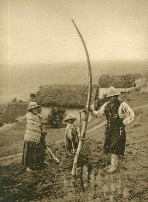 Kleine Farm der Quichua Indianer, Peru