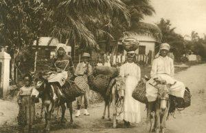 Zu Markt ziehende Eingeborene, Jamaica