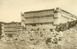 Ruinen des Hauptpalastes bei Mitla