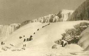 Die Niagara-Fälle im Winter