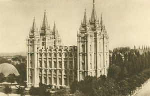 Mormonentempel in Salt Lake City, Utah