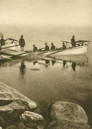 Walfischfänger in der Baffins Bay