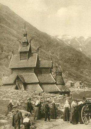 Kirche in Borgund