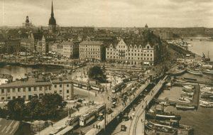 Die Stadt aus der Vogelperspektive, Stockholm