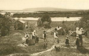 Am Siljansee in Dalarne, Dalarne