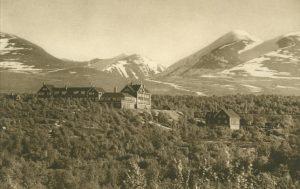 Abisko an der Lapplandbahn, Abisko