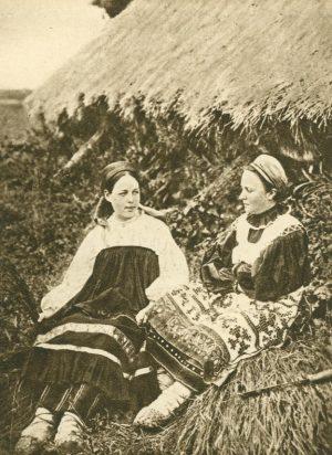 Bauernfrauen aus dem Gouv, Russlands
