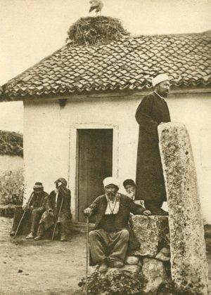 Preister am Gebetstein, Rumänien