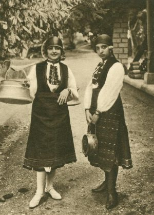 Bauernmädchen von Bela, Bulgarien