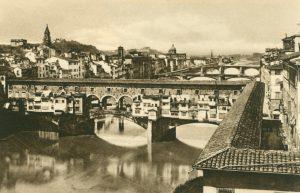 Florenz Ponte Vecchio, Italien