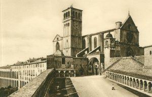 Assisi Kirche des heiligen Franz, Italien