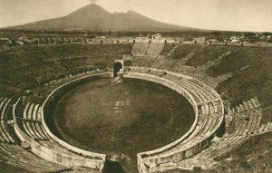 Pompeij Amphitheater, Italien