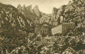 Montserrat Kloster, Spanien