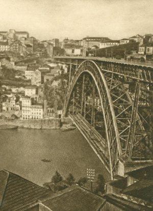 Porto. Brücke über den Douro, Portugal