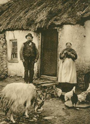 Bauernhaus Bezirk Mayo, Irland