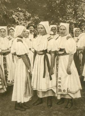 Frauen in Landestracht, Tschechien