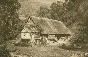 Bauernhaus im Böhmerwald, Tschechien