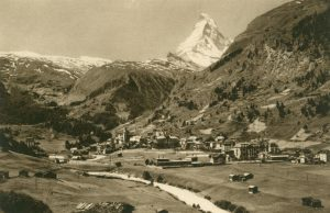 Zermatt und Matterhorn, Schweiz