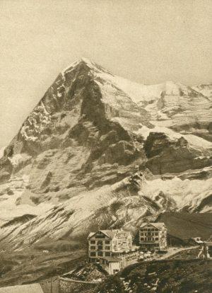 Kl. Scheidegg. Eiger, Schweiz