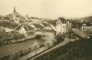 Baden, Altstadt mit Landesvogteischloss, Schweiz