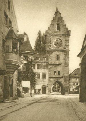 Ueberlingen. Franziskaner Tor, Deutschland