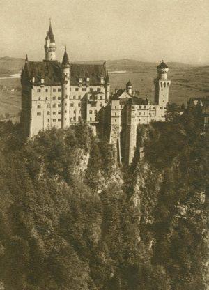 Schloss Neuschwanstein bei Füssen, Deutschland