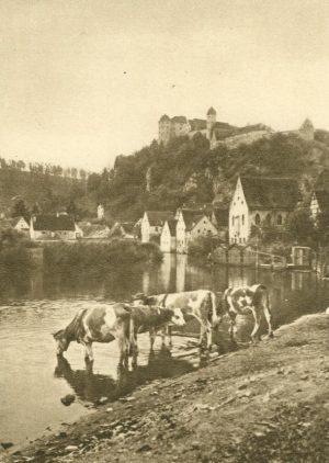 Die Harburg an der Wörnitz, Deutschland