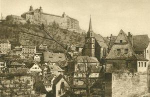 Kulmbach und die Plassenburg, Deutschland