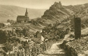 Oberwesel und die Schönburg, Deutschland