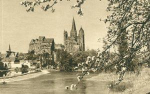 Am Dom zu Limburg an der Lahm, Deutschland