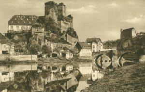 Burg Runkel im Lahntal, Deutschland